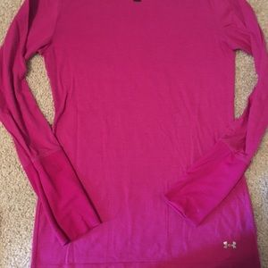 3 Under Armour cold gear shirts size small